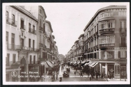 MALAGA - Calle Del Marques De Larios - Espana (2 Scans) - Malaga