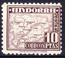 ANDORRA Correo Espanol YT N° 51 ** - Spanisch Andorra