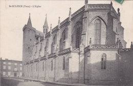 CPA (81) ST SULPICE  L' Eglise - Saint Sulpice
