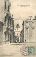 Vendée - Ref E229- Les Sables D Olonne - Rue Des Halles  - Carte Bon Etat  - - Sables D'Olonne