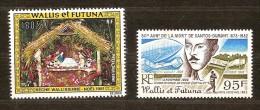 Wallis Et Futuna  1981 Yvertn° PA 113 Et 117 *** MNH Cote 11,70 Euro - Poste Aérienne