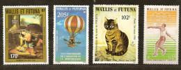 Wallis Et Futuna  1982 1983  Yvertn° PA 121, 124, 125  Et 126 *** MNH Cote 21,80 Euro - Poste Aérienne