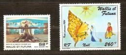 Wallis Et Futuna  1984  Yvertn° PA 141 142 *** MNH Cote 10 Euro - Poste Aérienne