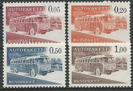 FINNLAND 1963 Autopaketmarken MI-NR. 10/13 X ** MNH (99) - Paketmarken