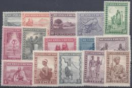 BELGIUM RUANDA URUNDI 1931 Nº 92/106