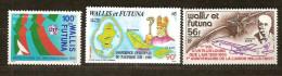 Wallis Et Futuna  1988 1990  Yvertn° PA 162, 163  Et 168 *** MNH Cote 7,95 Euro - Poste Aérienne