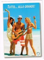 K1377 Humor - Tutto Alla Grande - Ragazza Girl Femme Frau Chica Pin Up / Viaggiata 2004 - Humour