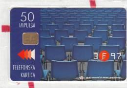BOSNIA -  Sarajevo Film Festival 1997(50 Units), Mint - Bosnia