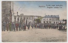 Poland (Austrian Galicia) 1916 Postcard Ringplatz östlicher Teil - K.u.K. Militärzensur Tarnow - Polen