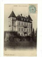 Cpa CREMIEU Château De Hautepierre - Crémieu