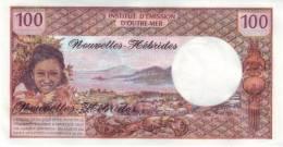 NEW HEBRIDES P. 18d 100 F 1977 UNC - New Hebrides