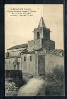 CPA . VENASQUE . L'eglise . Voir Recto - Verso  (S990) - Autres Communes