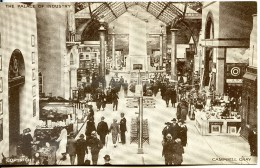 Palace Of Industry Interior - British Empire Exhibition - 1924 - Exhibitions