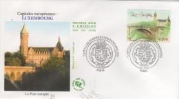 PARIS  Capitales Européennes  Luxembourg  Le Pont Adolphe  7/11/03 - Brücken
