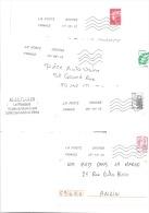 190 Lettres Avec Oblitération Toshiba TSC 1000 Code ROC - Marcophilie (Lettres)