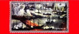 U.S. - USA - STATI UNITI - Usato - 2012 - Guerra Civile - Battaglia Navale Di New Orleans 1862 - 45 - Forever - Used Stamps