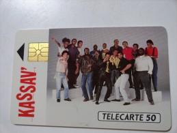 RARE: KASSAV ( MINT CARD) 49 UNIT ISSUE 1000. - Francia