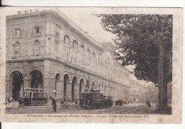 TORINO-TURIN (Italie) Stazione Di Porta Nuova-Corso Vittorio Emanuele II-TRAM-TRAMWAY-  VOIR 2 SCANS - Stazione Porta Nuova