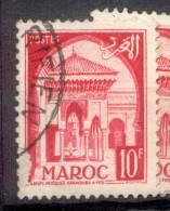 MAROC MARRUECOS MOROCCO   YVERT NR. 308A OBLITERE - Marokko (1956-...)