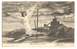 Cp, Anges, Messager De Bonheur, Voyagée 1902 - Anges