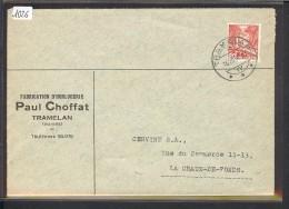 SUISSE - LETTRE HORLOGERIE - MONTRES  - PAUL CHOFFAT  TRAMELAN - Suisse