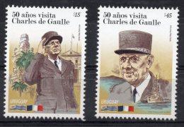 50 Aniv. Charles De Gaulle Visit To Uruguay MNH Stamp Military War Ship WWII - De Gaulle (Generaal)