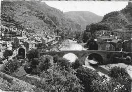 Les Gorges Du Tarn - Sainte-Enimie - Le Tarn Et Le Village - Le Pont - Andere Gemeenten