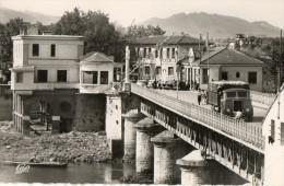 CPSM HENDAYE. Frontière France Espagnole, Pont International, Espagne. Camion. - Douane