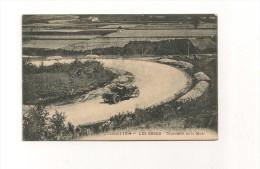 38.- CPA. - CIRCUIT 1914 - LES ESSES - Tournant De La Mort - TACOT EN MOUVEMENT - ANIMEE - Autres Communes