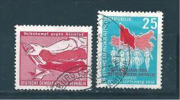 Allemagne Fédérale Timbres De 1958  N°375/76  Oblitérés - DDR