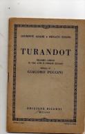 TURANDOT - Opern