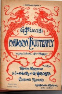 MADAMA  BUTTERFLAY - Opern