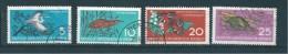 Allemagne Fédérale Timbres De 1959  N°403 A 406  Oblitéré - [6] République Démocratique