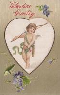 VALENTINE POSTCARD. EMBOSSED - Valentine's Day