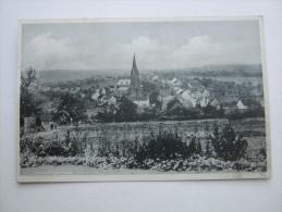 UCHTELFANGEN   , Schöne Karte  1943,  Mit Marke + Stempel  ,   2 Scans - Germany
