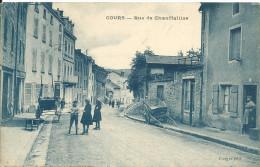 COURS ( Rhône ) -  RUE DE CHAUFFAILLES - France