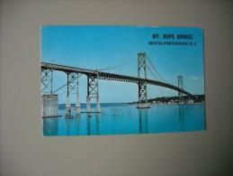 ETATS UNIS RI RHODE ISLAND MT. HOPE BRIDGE BRISTOL PORTSMOUTH.............. - Etats-Unis