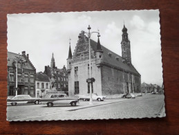 Stadhuis En Gedenkteken Van Boerenkrijg / Anno 19?? ( Zie Foto Voor Details ) !! - Herentals