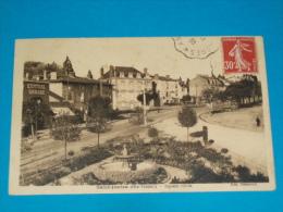 87) saint-junien - square curie  - ann�e 1938  - EDIT - villoutreix