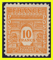 N° 629 - ARC DE TRIOMPHE 1944 - N* TRACE DE CHARNIERE - - 1944-45 Triomfboog