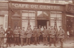 ONVILLE - Café Du Centre - Militaires  Allemand - Autres Communes