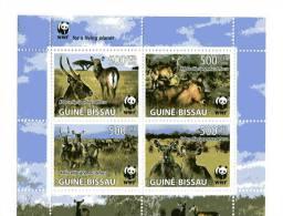 Guinée Bissau-WWF-KOBUS-Feuillet 2008***MNH - W.W.F.