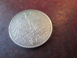 ALLEMAGNE -10 Deutsche Mark - Bundes Republik Deutschland - Olympische Spiele 1972 In München -METAL ARGENT - SUP - [10] Commemorative