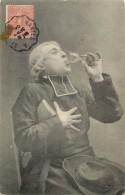 HOMME D EGLISE  PRETRE   ALCOOL - Uomini