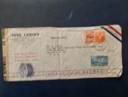 A3910    LETTRE  CUBA POUR  USA  CENSURE - Brieven En Documenten