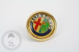 Alfa Romeo Italian Car Logo - Pin/ Badge - Alfa Romeo