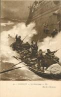 NAUVRAGE     SAUVETAGE  BATEAU     TABLEAU - Barche