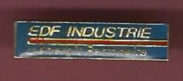 39075-Pin's.EDF-GDF.Elect Ricité.Industrie. - EDF GDF