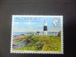 ALDERNEY 42  Xx ( YVERT ) COTE : 1.75 EURO - Alderney