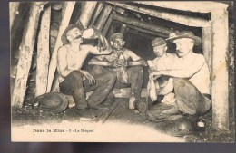 Dans La Mine . Le Briquet . - Bergbau